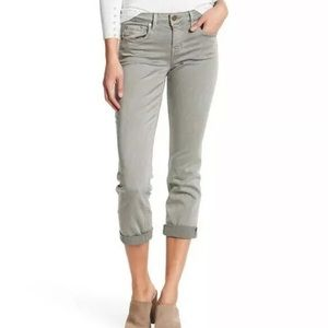 Level 99 Rosey cropped skinny jeans